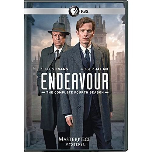 Endeavour - The Complete Season 4 DVD (for NZ Buyers)