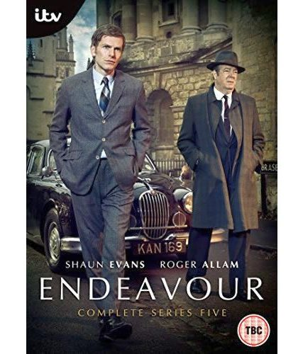 Endeavour - The Complete Season 5 DVD (for NZ Buyers)