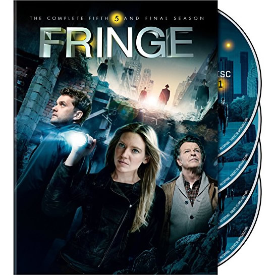 Fringe - The Complete Season 5 DVD (for NZ Buyers)