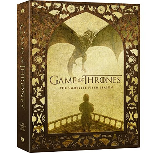 Game of Thrones - The Complete Season 5 DVD (for NZ Buyers)