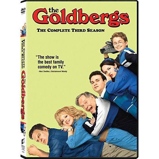 Goldbergs - The Complete Season 3 DVD (for NZ Buyers)
