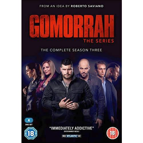 Gomorrah - The Complete Season 3 DVD (for NZ Buyers)