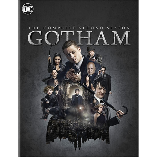 Gotham - The Complete Season 2 DVD (for NZ Buyers)