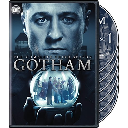 Gotham - The Complete Season 3 DVD (for NZ Buyers)