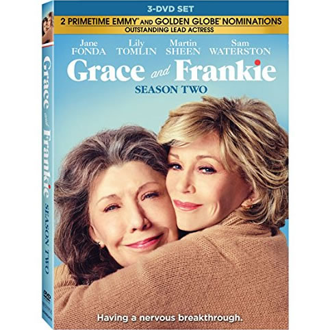 Grace And Frankie - The Complete Season 2 DVD (for NZ Buyers)