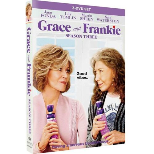 Grace And Frankie - The Complete Season 3 DVD (for NZ Buyers)