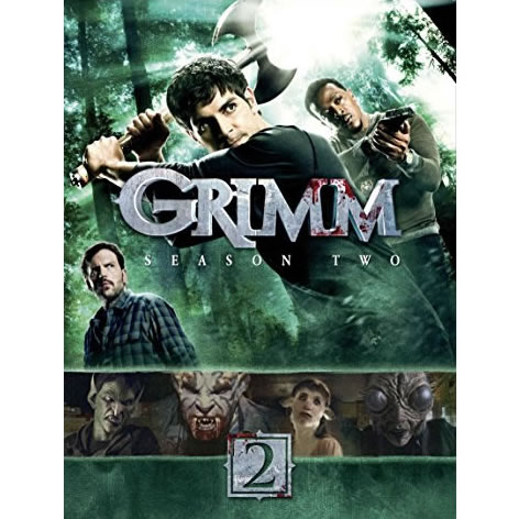 Grimm - The Complete Season 2 DVD (for NZ Buyers)