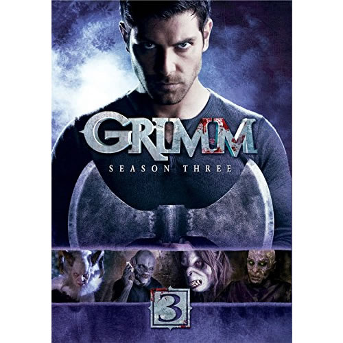 Grimm - The Complete Season 3 DVD (for NZ Buyers)