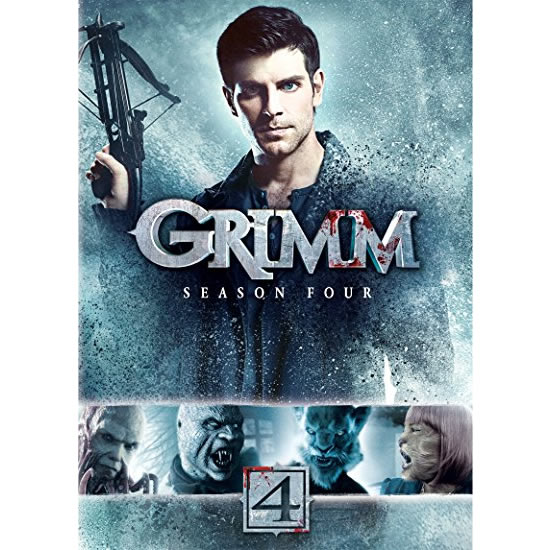 Grimm - The Complete Season 4 DVD (for NZ Buyers)