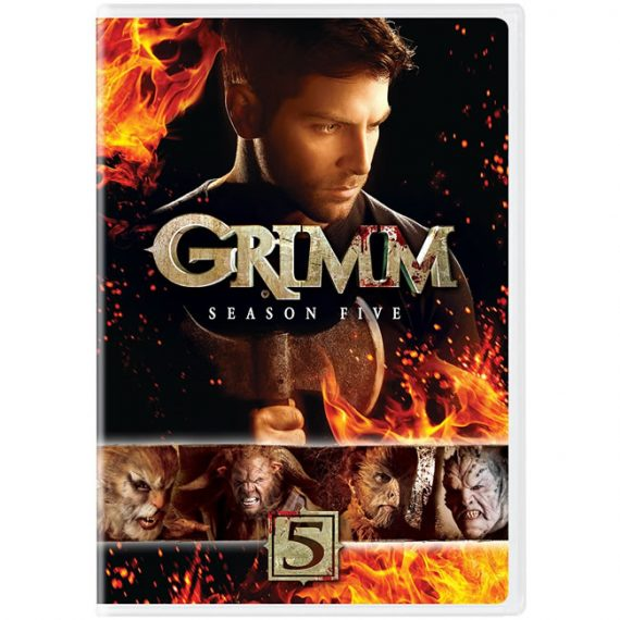 Grimm - The Complete Season 5 DVD (for NZ Buyers)