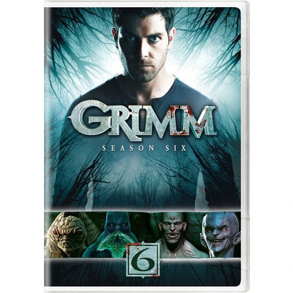 Grimm - The Complete Season 6 DVD (for NZ Buyers)