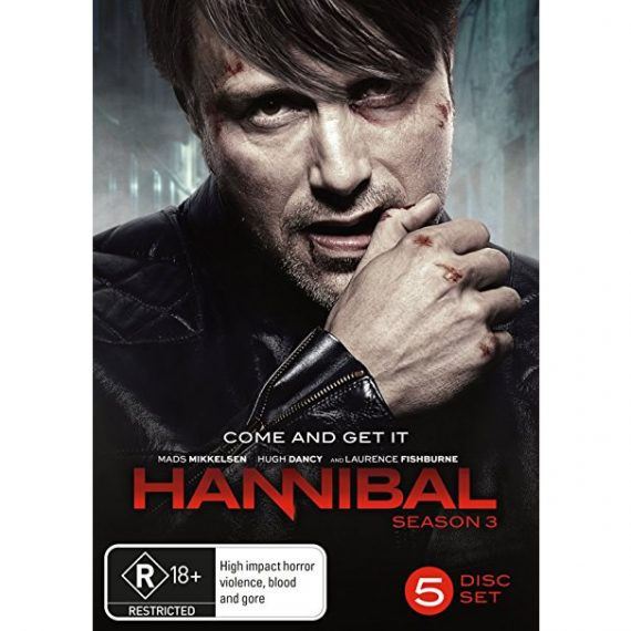 Hannibal - The Complete Season 3 DVD (for NZ Buyers)