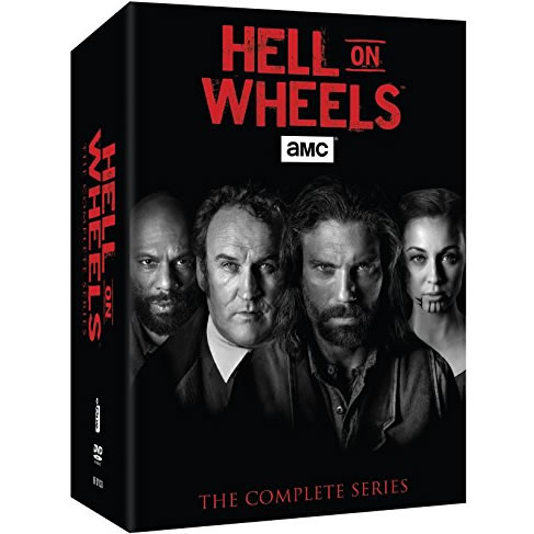 Hell on Wheels - The Complete Series (for NZ Buyers)