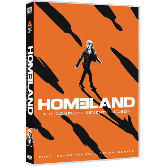 Homeland - The Complete Season 7 DVD (for NZ Buyers)