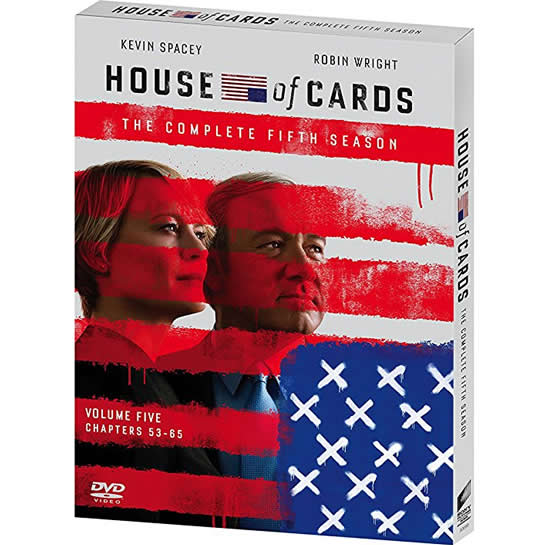 House of Cards - The Complete Season 5 DVD (for NZ Buyers)