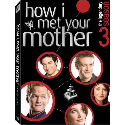 How I Met Your Mother - The Complete Season 3 DVD (for NZ Buyers)