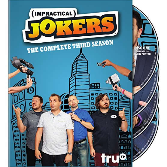 Impractical Jokers - The Complete Season 3 DVD (for NZ Buyers)