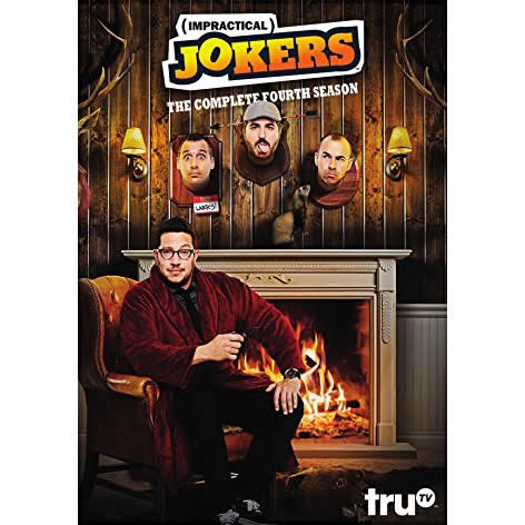 Impractical Jokers - The Complete Season 4 DVD (for NZ Buyers)