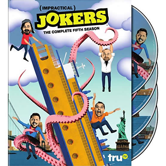 Impractical Jokers - The Complete Season 5 DVD (for NZ Buyers)