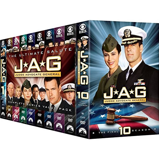 JAG: Judge Advocate General - The Complete Series (for NZ Buyers)