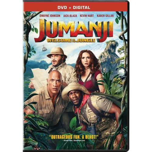 Jumanji: Welcome to the Jungle DVD (for NZ Buyers)