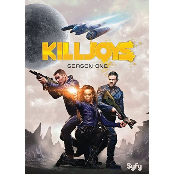 Killjoys - The Complete Season 1 DVD (for NZ Buyers)