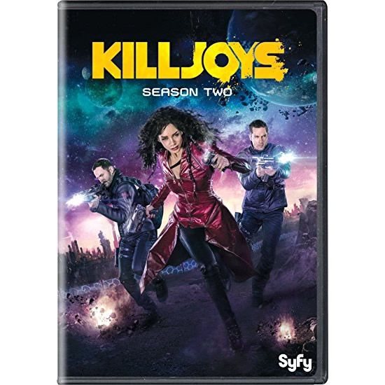Killjoys - The Complete Season 2 DVD (for NZ Buyers)
