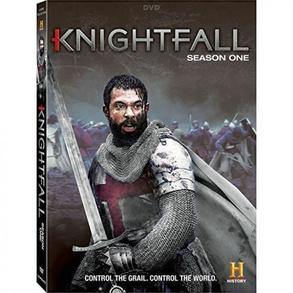 Knightfall - The Complete Season 1 DVD (for NZ Buyers)