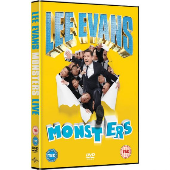 Lee Evans - Monsters Live DVD (for NZ Buyers)
