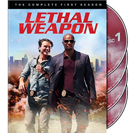 Lethal Weapon - The Complete Season 1 DVD (for NZ Buyers)