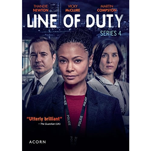 Line of Duty - The Complete Season 4 DVD (for NZ Buyers)