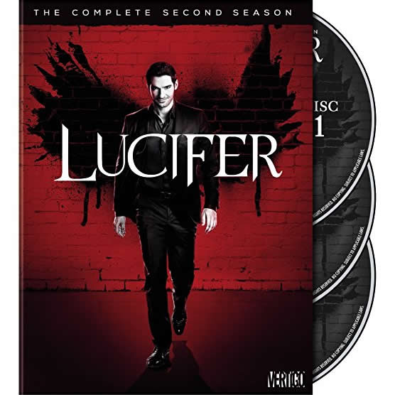 Lucifer - The Complete Season 2 DVD (for NZ Buyers)