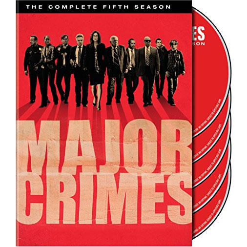 Major Crimes - The Complete Season 5 DVD (for NZ Buyers)