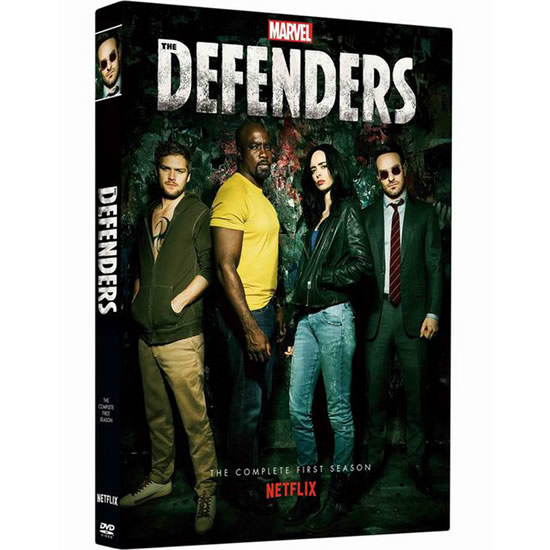 Marvel's The Defenders - The Complete Season 1 DVD (for NZ Buyers)