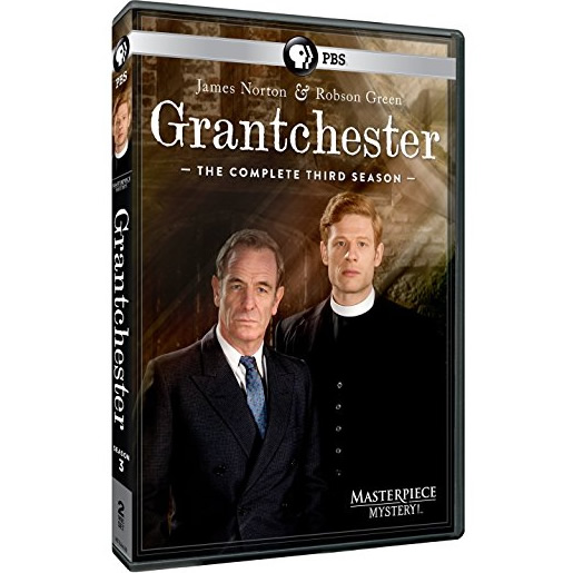 Masterpiece Mystery: Grantchester - The Complete Season 3 DVD (for NZ Buyers)