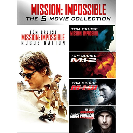 Mission: Impossible 5-Movie Collection DVD (for NZ Buyers)