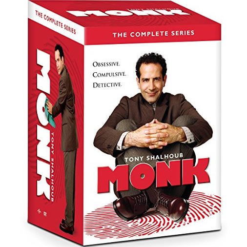 Monk - The Complete Series (for NZ Buyers)