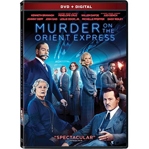 Murder On The Orient Express DVD (for NZ Buyers)