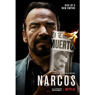 Narcos - The Complete Season 3 DVD (for NZ Buyers)