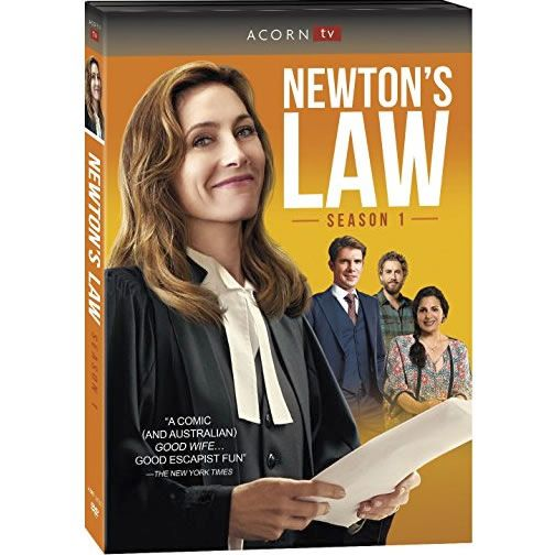 Newton's Law - The Complete Season 1 DVD (for NZ Buyers)