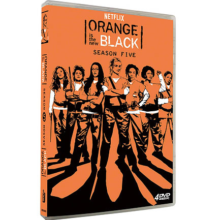 Orange Is The New Black - The Complete Season 5 DVD (for NZ Buyers)