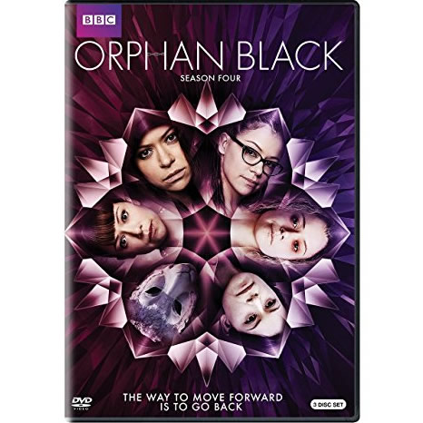 Orphan Black - The Complete Season 4 DVD (for NZ Buyers)