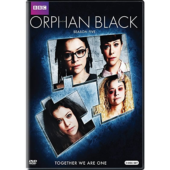 Orphan Black - The Complete Season 5 DVD (for NZ Buyers)