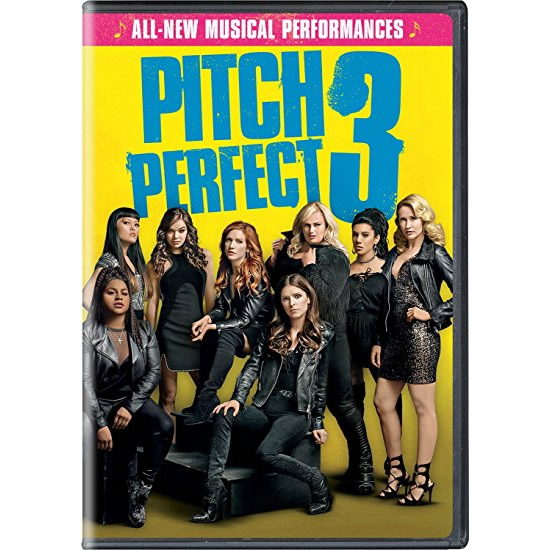 Pitch Perfect 3 DVD (for NZ Buyers)