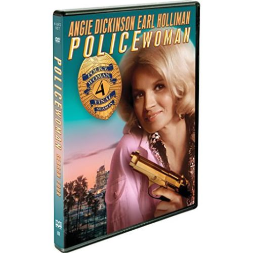 Police Woman - The Complete Season 4 DVD (for NZ Buyers)