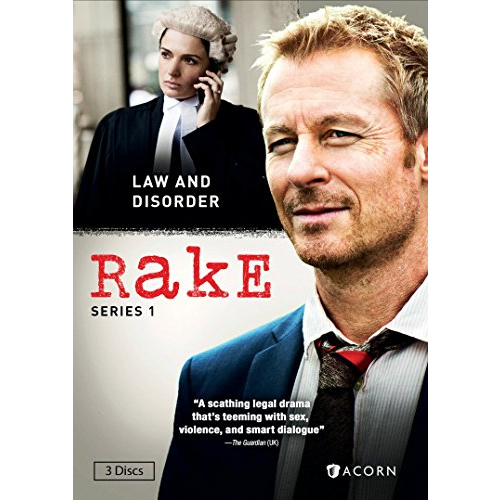Rake - The Complete Season 1 DVD (for NZ Buyers)