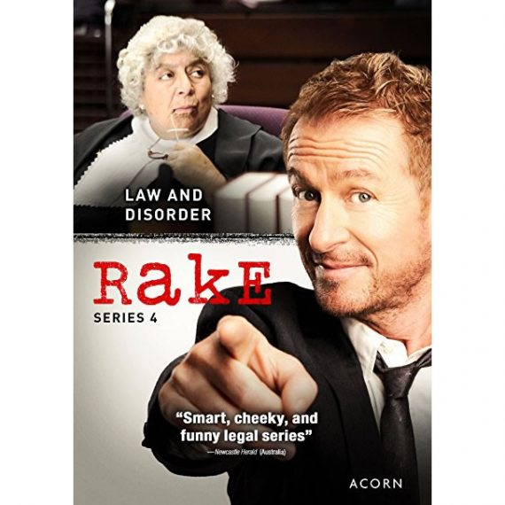 Rake - The Complete Season 4 DVD (for NZ Buyers)