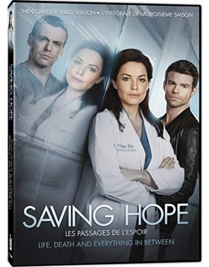 Saving Hope - The Complete Season 3 DVD (for NZ Buyers)