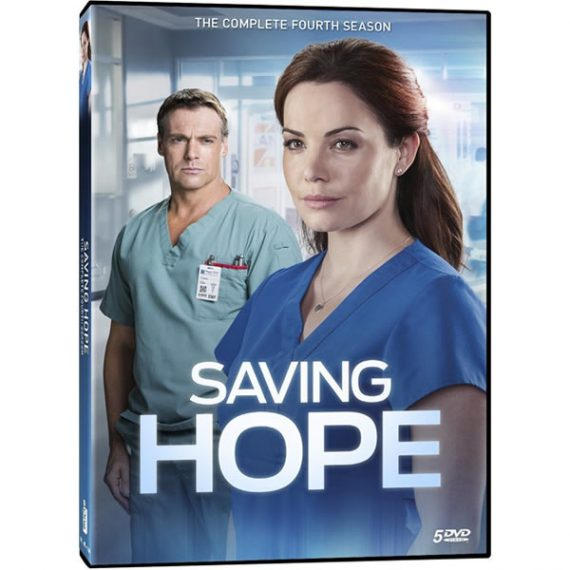 Saving Hope - The Complete Season 4 DVD (for NZ Buyers)