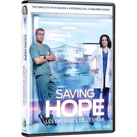 Saving Hope - The Complete Season 5 DVD (for NZ Buyers)